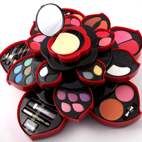 صورة Rose Professional Makeup Kit Flower