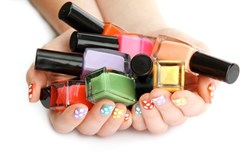 Picture of  Colorful Nail Polishes